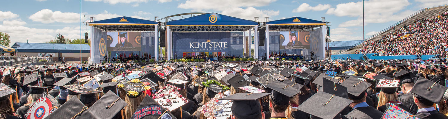 Commencement at Kent State University