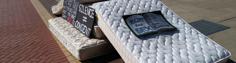 image of mattress display