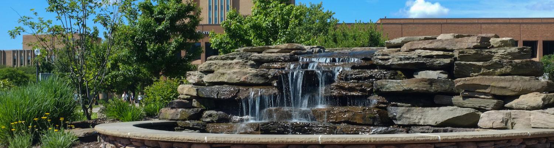 Memorial water fountain