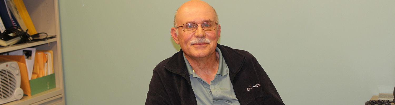 Ashtabula faculty member Michael Czayka
