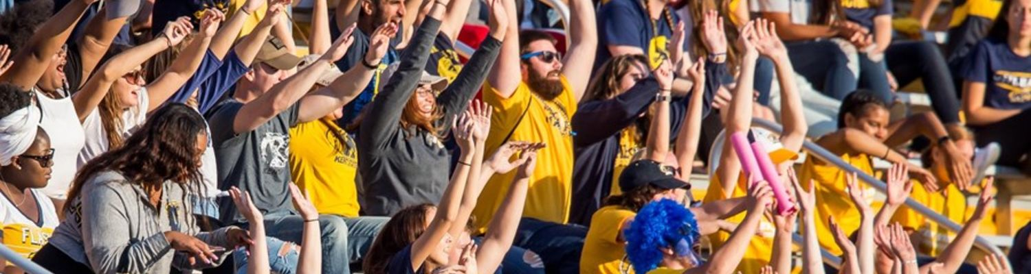 Cheering on the Flashes