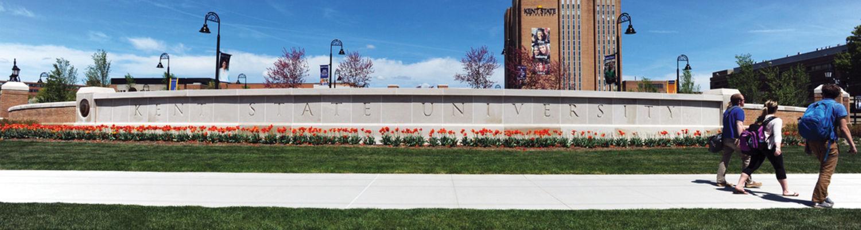 Front campus.