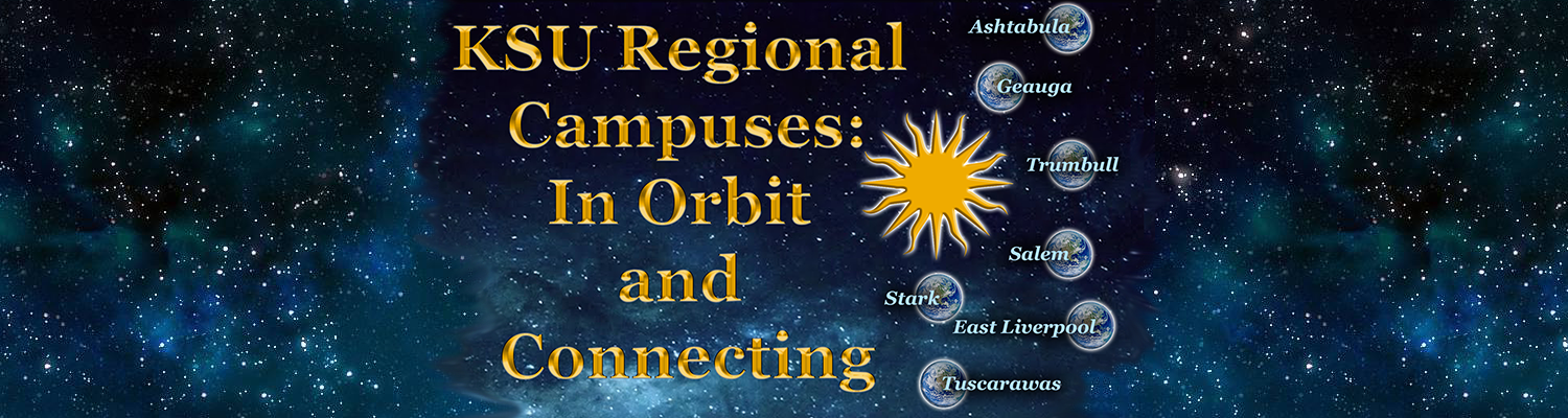regional campuses, in orbit and connecting