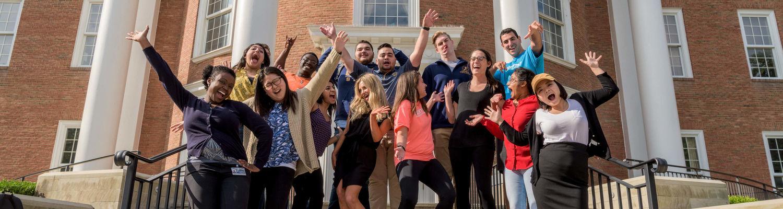 KSUCPM Students Celebrating