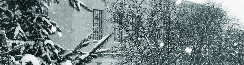 museum in winter