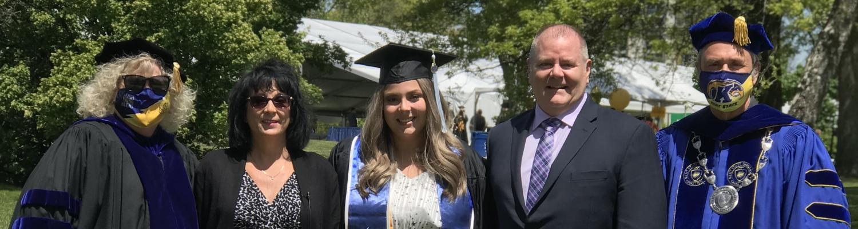 Marissa Trubatch at graduation