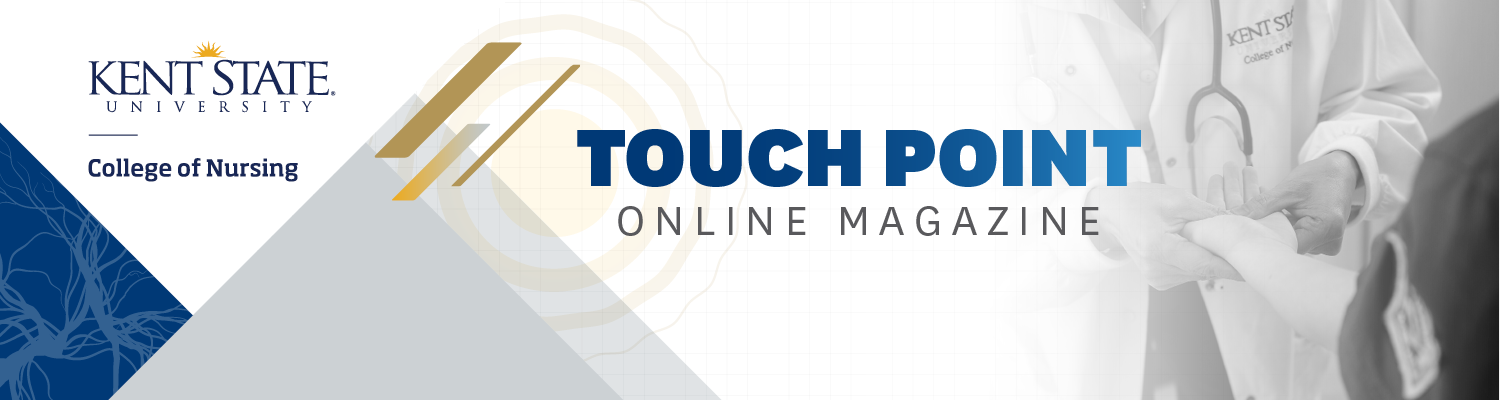 Touch Point Online Magazine header