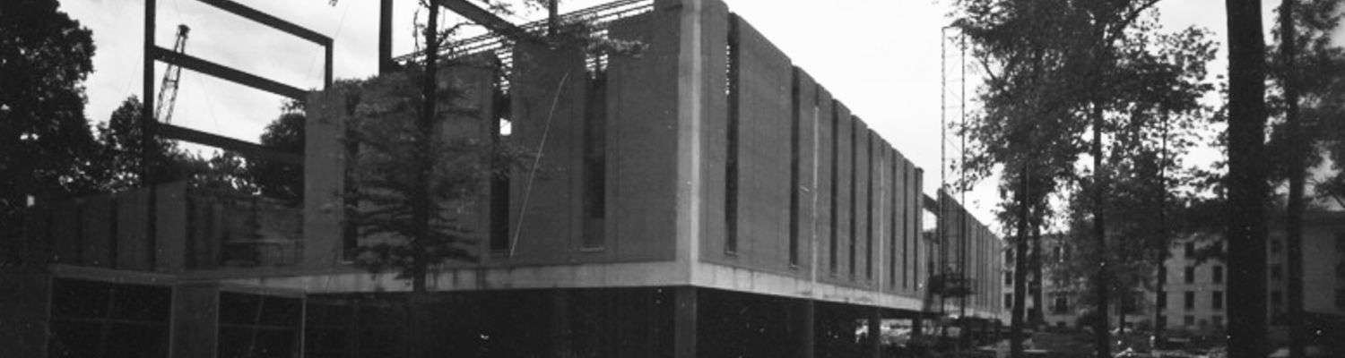 White Hall being built