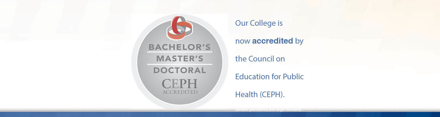 Can I get a BS in Public Health online from a CEPH accredited university?