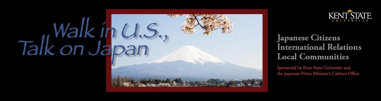 Walk in U.S., Talk on Japan Forum