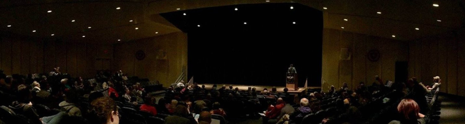 Poetry Reading in the Kiva Auditorium