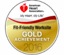 Fit-Friendly Worksite Gold 2016