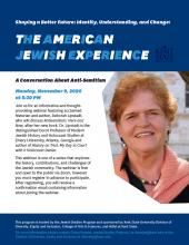 American Jewish Experience flyer