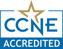 CCNE Accredited seal