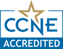 CCNE Accredited seal