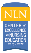 NLN Center of Excellence in Nursing Education 2013-2022 seal