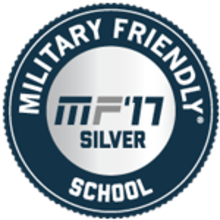 Military Friendly School, MF '17 Silver logo