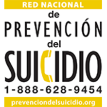 Red Nacional de Prevencion del Suicidio 1-888-628-9454