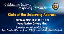 Kent State University President Beverly Warren will deliver her first State of the University address on Thursday, Nov. 19.
