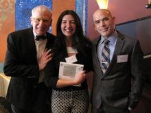 Nicole Sauter, recipient of The Judith and Christopher Everett Endowed Scholarship.
