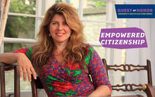 "Author, Political Consultant, and Social Critic Naomi Wolf will present ""Empowered Citizenship"" on October 5."