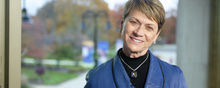 """Kent State University President Beverly J. Warren offers a """"thank you"""" on behalf of the university for a successful Giving Tuesday 2018."""