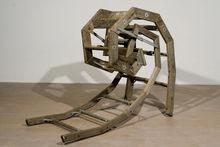 Aristotle Georgiades, Weary, 2011 Re Purposed Wood Ladder