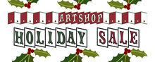ARTshop holiday sale