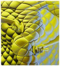 Sascha Braunig, Warm Leatherette, Oil on canvas over panel