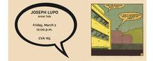 Joseph Lupo - Artist Talk