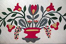 Ohio Quilt Floral Applique