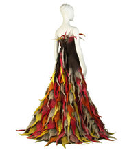 Dyed in the Wool Felt Wearable Art by Horst