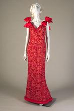 Bob Mackie Red Dress