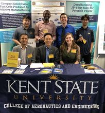 KSU Sponsors, Exhibits and Serves at the 2019 Ohio Fuel Cell Symposium in Columbus