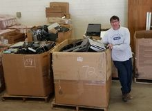 Electronics Recycling at Kent State University