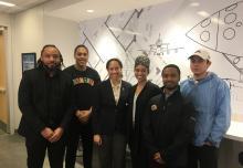 photo 2018 OBAP student organization with guest speaker Stephanie Johnson