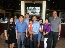 Dr. Yanhai Du (pictured with his Team)