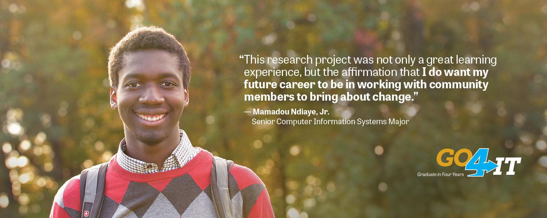 Mamadou Nidiaye | Undergraduate Research Symposium Participant