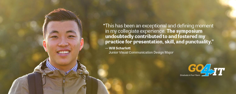 Will Scharlott   Undergraduate Research Symposium Participant