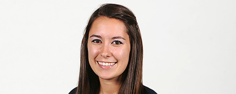 Scholarship recipient Angela Ehrich