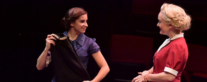 "Talia Cosentino (left) performs in ""Irena's Vow"""