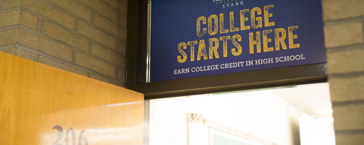 College Credit Plus at Kent State Stark