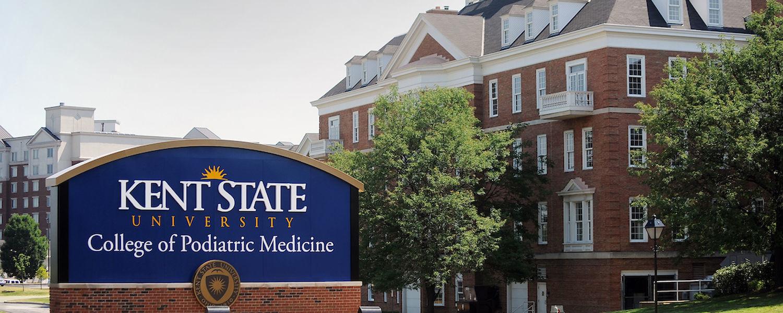 Kent State University's College of Podiatric Medicine