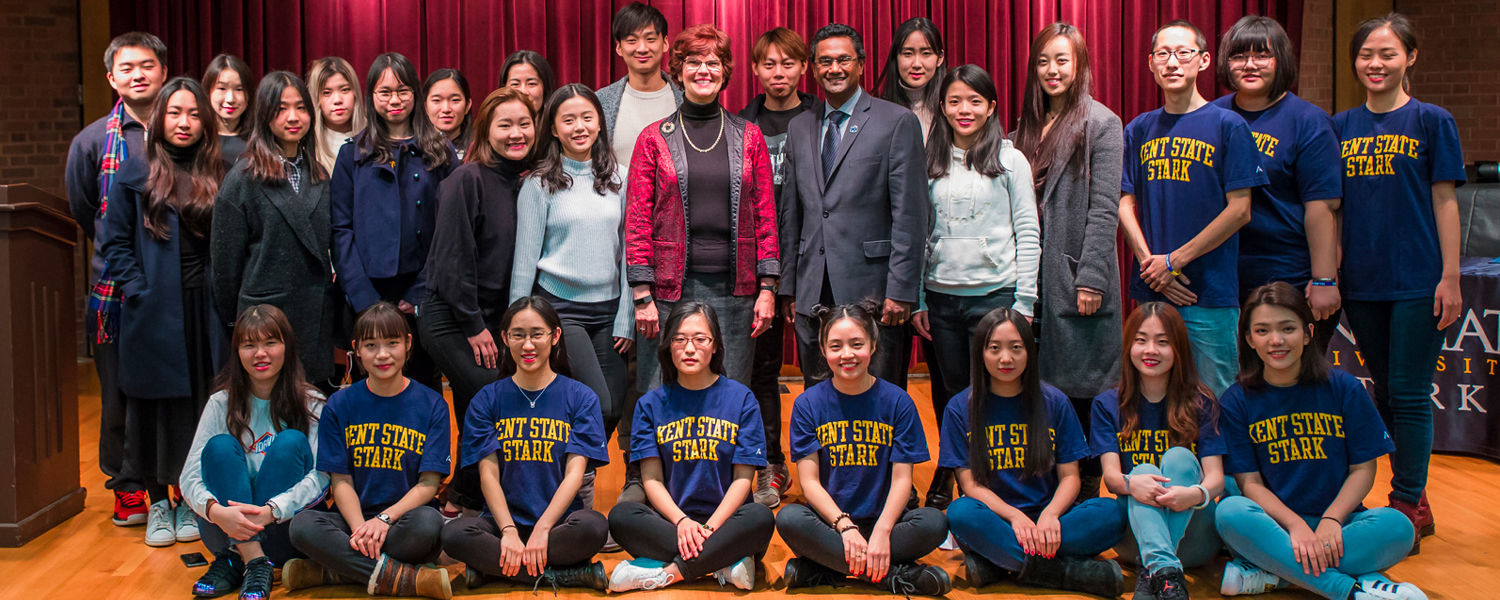 "Chinese Students Say ""Goodbye"" and ""Thank You"" to their Kent State Friends"