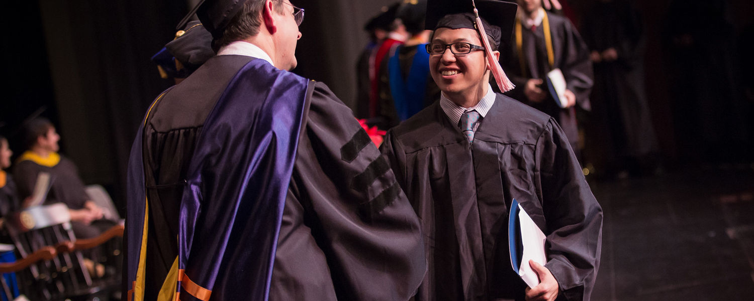 Kent State Stark Fall Commencement held on Friday, Dec. 18, 2015