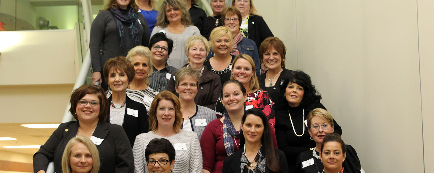 Alumni gathered at the 50 Years of Excellence in Nursing Education Celebration at Kent State Ashtabula