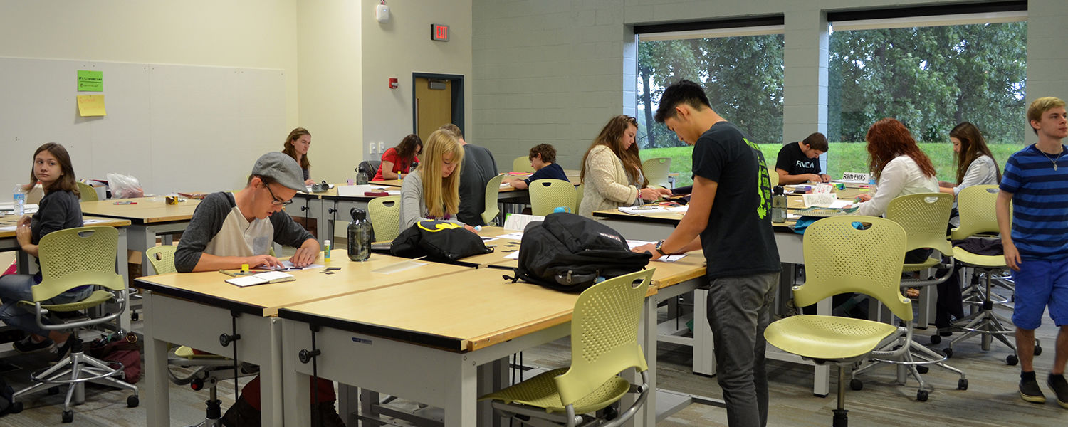 Inspire, Kent State University's annual Design Academy: Explore design, experience college