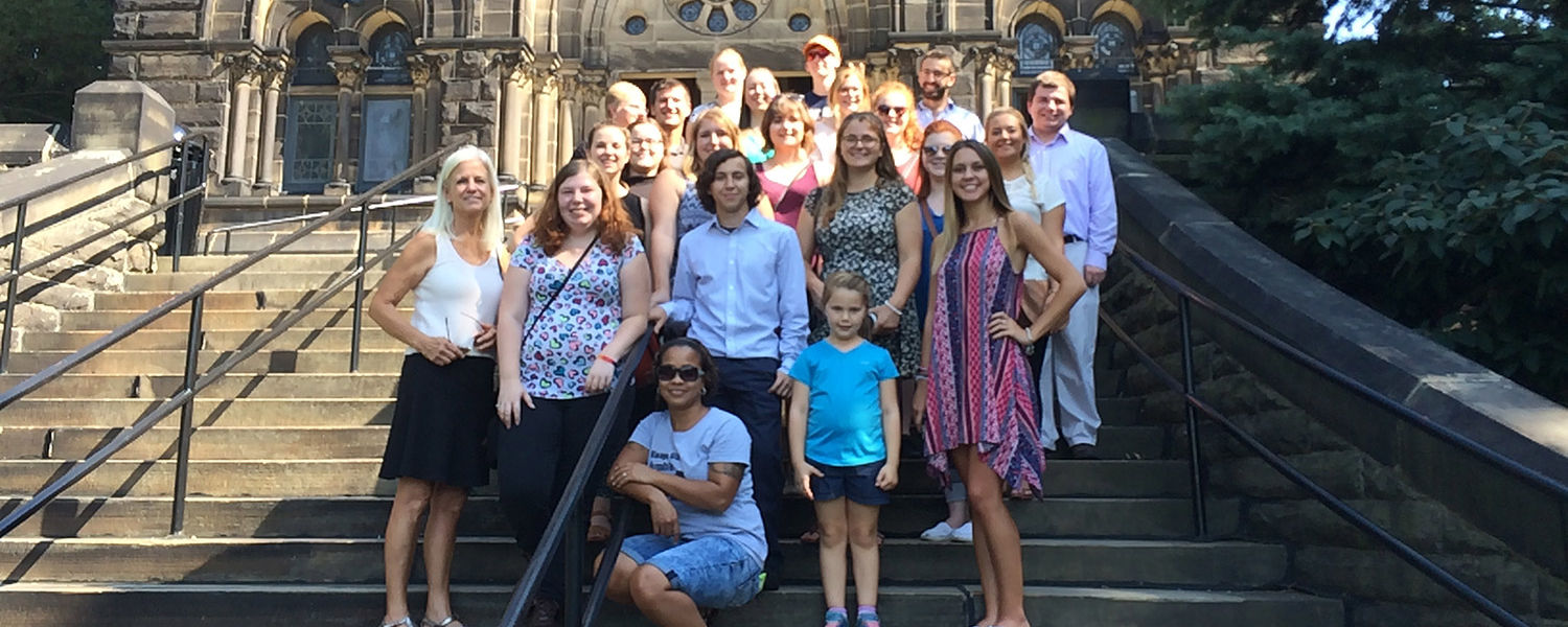 Kent State University students in Educational Psychology classes, along with mentors, family and friends, visit Cleveland landmarks to help them create integrated lesson plans as a course assignment.