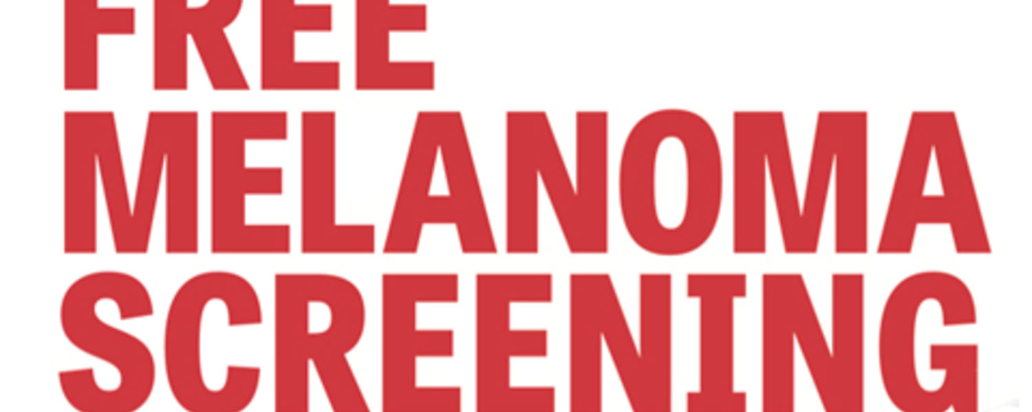 Free Melanoma Screening on September 15
