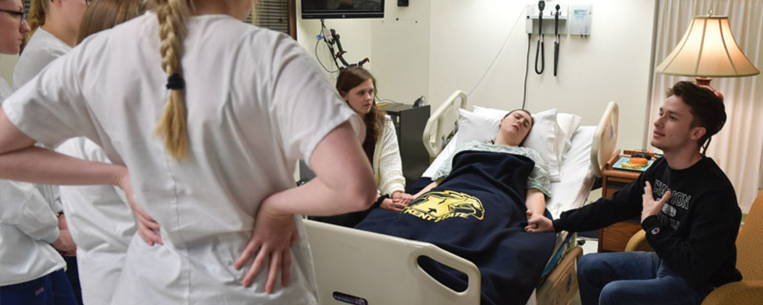 College of Nursing is partners with the School of Theatre and Dance to Stage Scenarios